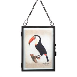 Monochrome Black Hanging Portrait Photo Frame