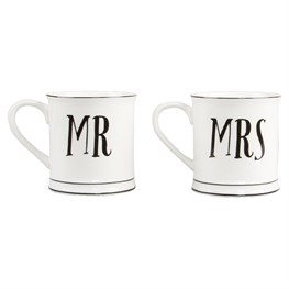Mr & Mrs Mug Assorted