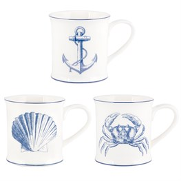 Vintage Sea Mug Assorted