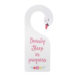 Freya Swan Door Hanging Decoration