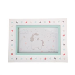 Evie Unicorn Single Photo Frame