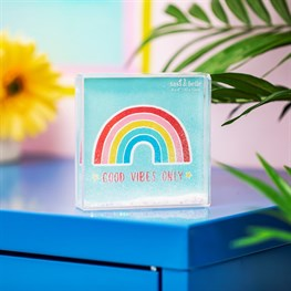 Chasing Rainbows Glitter Photo Frame