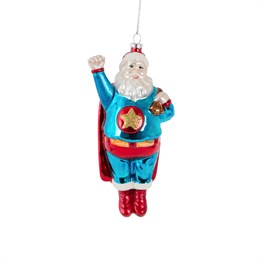 Sleigh No More Super Santa Hanging Decoration