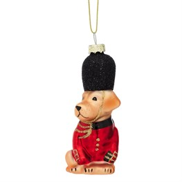 British Dog Shaped Bauble