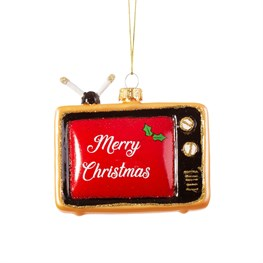 Retro Tv Shaped Bauble