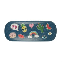 Patches & Pins Glasses Case