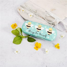 Queen Bee Yourself Glasses Case