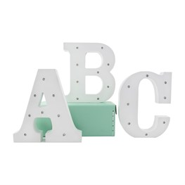 Alphabet LED Light Decoration Letter (options available)