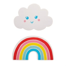 Rainbow & Cloud Nail File Assorted