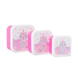Luna Caticorn Lunch Boxes - Set of 3
