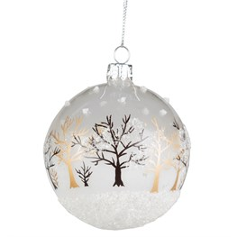 Winter Forest Christmas Bauble