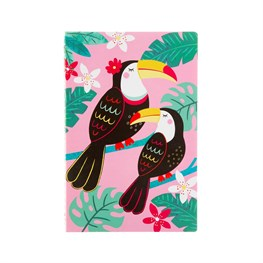 Tiki Toucan A5 Notebook