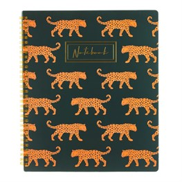 Leopard Love A4 Lined Notebook