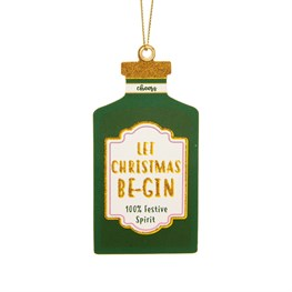 Gin Bottle Gift Tags - Set of 6