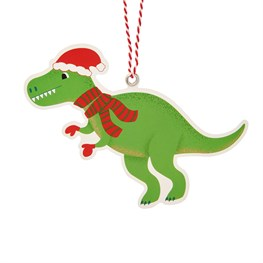 Christmas Roarsome Dinosaur Gift Tags - Set of 6