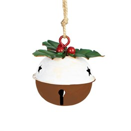 Ding Dong Christmas Pudding Bell Decoration
