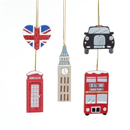 Set of 5 London Icons