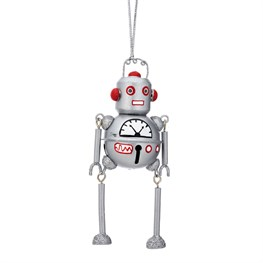 Outer Space Robot Hanging Bell Decoration