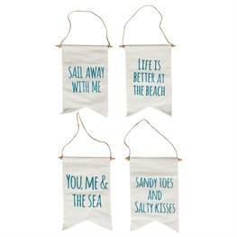 You & Me Seaside Message Flag Assorted