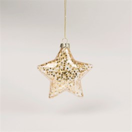 All That Glitters Star Shaped Bauble
