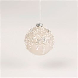 Pearly Beads Encrusted Bauble
