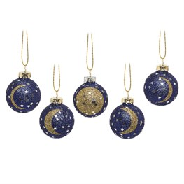 Phases of the Moon Mini Bauble Set