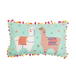 Lima Llama Cushion with Tassels - with Inner