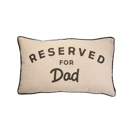 Cushion With Words Reserved For Dad