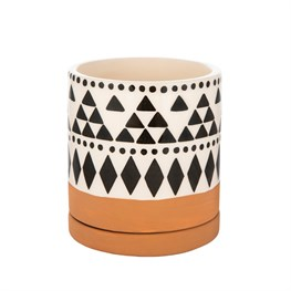 Mini Scandi Boho Geo Planter