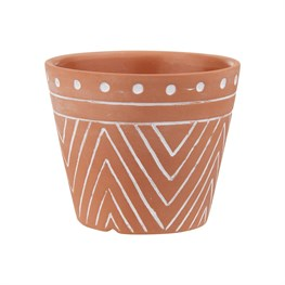 Mini Geo Terracotta Planter