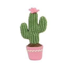 Mini Pastel Cactus Fabric Decoration