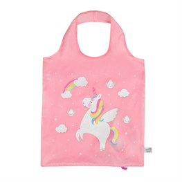 Rainbow Unicorn Raindrop Foldable Shopping Bag