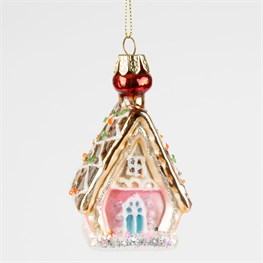Princess Gingerbread House Bauble