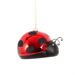 Mrs Ladybird Shaped Bauble
