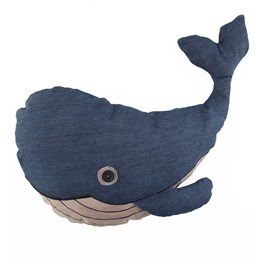 Blue Whale Cushion