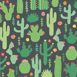 Colourful Cactus Wrapping Paper