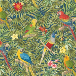 Parrot Paradise Wrapping Paper