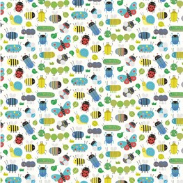 Busy Bugs Wrapping Paper