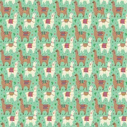 Lima Llama Wrapping Paper