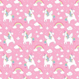 Rainbow Unicorn Wrapping Paper