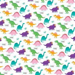 Roarsome Dinosaurs Wrapping Paper