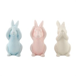 Pastel Peekaboo Bunnies Assorted