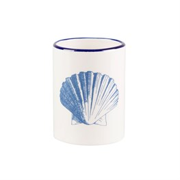Vintage Seashell Toothbrush Holder