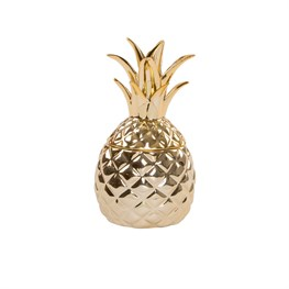Gold Pineapple Trinket Box