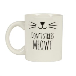 Cat's Whiskers Don't Stress Meowt Mug