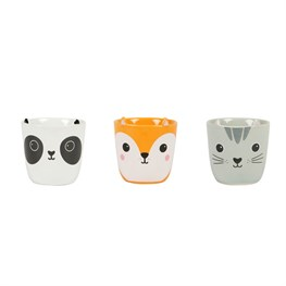Kawaii Friends Egg Cups - Set of 3