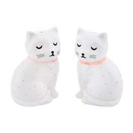 Cutie Cat Salt & Pepper Shaker Set