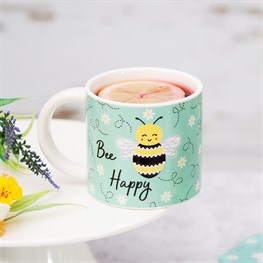 Queen Bee Happy Mug