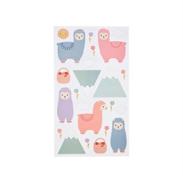Little Llama Wall Stickers Set