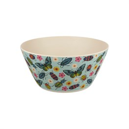 Butterflies and Beetles Salad Bowl